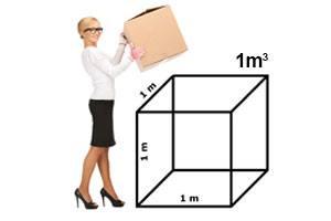Calcula 1 metro cúbico